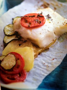 SEA BASS IN PARCHMENT resize