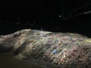 Food waste exhibit at Expo Milano in October 2015